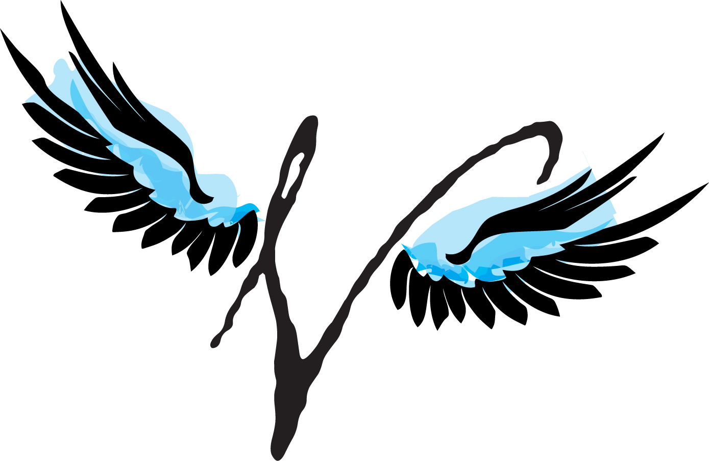 Wings Logo Colouring Pages